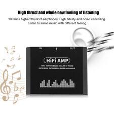 Portable 3.5MM HIFI Headphone Stereo Earphone Amplifier AMP For Mobile Phone
