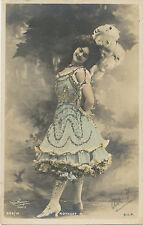 GIBRALTAR 1904 King EVII One Penny on superb extremely rare old vintage postcard
