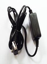 DC converter cable USB input 5V DC, output 9V DC jack 3.5mm x 1.35mm 5V to 9V