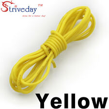 1 meters Yellow 30AWG Flexible Silicone Wire Outer Diameter 1.2mm DIY Cable line