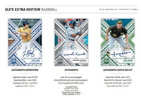 2018 ELITE EXTRA EDITION BASEBALL HOBBY RANDOM PLAYER 10 BOX CASE BREAK 80 AUTOS