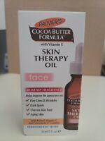 Palmer's Cocoa Butter Formula Skin Therapy Oil for Face 1 oz EXP. 4/2021