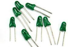 25pcs Tantalum Radial Capacitor .1uF 35v  Green
