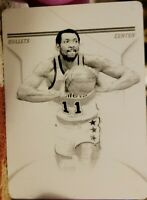 ELVIN HAYES 2012-13 Playoff National Treasures PRINTING PLATE #1/1 of 1 Bullets