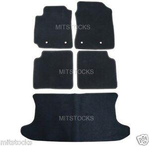 FIT FOR 2004-2007 SCION xB BLACK NYLON CARPET FLOOR MATS