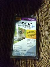 New listing Sentry Fiproguard Plus for Cats & Kittens Over 1.5 lbs Topical Flea & Tick