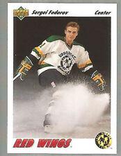 Lot Of 1000 1991-92 Upper Deck Hockey Sergei Fedorov Card # 40