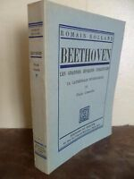 Romano Rolland Beethoven Del Clessidra Parigi 1945 N°1338 Edit.originale A IN12
