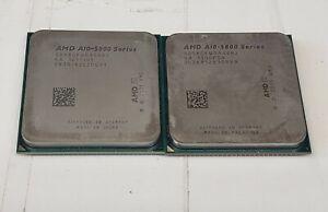 Lot (2) AMD A10-Series A10-5800K 3.8GHz Socket FM2 4-Cores CPU AD580KWOA44HJ