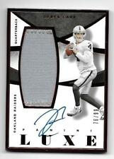 2015 Panini Luxe Derek Carr Patch Auto /99