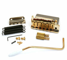 099-2050-200 Fender American Series Gold Tremolo Assembly w/Offset Saddles