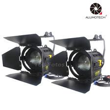 Pro Film LED Fresnel 100WX2pcs spot Continuous StudioLight video for photography