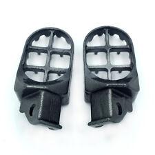 Black Motocross MX Foot Pegs For 96-97 Suzuki DR650SE 90-95 DR350 1990-1993 DR25