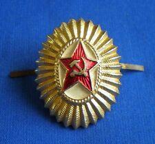 Soviet Russian Army Parade CAP COCKADE Pin BADGE