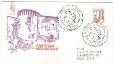 1983 REPUBBLICA BUSTA FDC CASTELLO 400 LIRE V/823