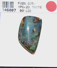 Boulder Opal Free Form 27x11mm with 7mm dome over 23cts from Australia  (6033)