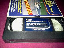 VINTAGE VHS TAPE KING SPECIAL STUDENT PILOT VIDEO