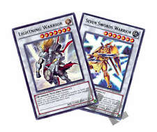 YUGIOH #JUMP-EN046/EN047 LIGHTNING/SEVEN SWORDS WARRIOR