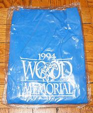 1994 HORSE RACING Wood Memorial Aqueduct NY ADULT RAIN PONCHO PVC RainCoat SNAPS