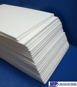 30 EXPANDED POLYSTYRENE SHEET LD GRADE 400 X 300 X 25MM