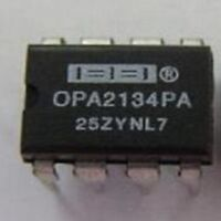 1-piece OP-AMP OP134PA OPA2134PA  IC CHIP New / NOS