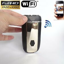 Real electric razor HD 1080P Wifi IP P2P Module DVR Video SPY Hidden Camera +8GB