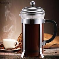 NEU 1L Pressfilterkanne Teekanne Kaffeebereiter Teebereiter Press Kaffeekanne