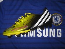 Diego da Silva Costa (Chelsea) signed Adidas Football Boot- Yellow/Black - Left