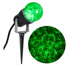 Gemmy LightShow Green LED Projector Christmas Light Rotating Holiday Lights Yard