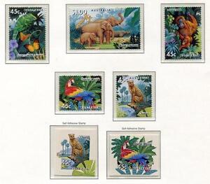 40350) AUSTRALIA 1994 MNH** Zoological garden 5v + 2v s-a
