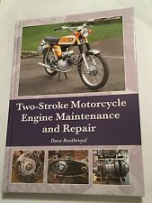 TWO-STROKE MOTORCYCLE ENGINE MAINTENANCE & REPAIR MANUAL Inc LAMB +VESPA SCOOTER