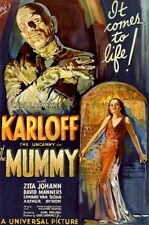 THE MUMMY 1932 ~ REGULAR 24x36 MOVIE POSTER Boris Karloff Universal Monster