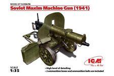 ICM 35676 1/35 Soviet Maxim Machine Gun (1941)