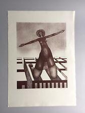 * Hans Hanko * Begrüssung * Radierung * 1970 * XL * sign./num./dat. *