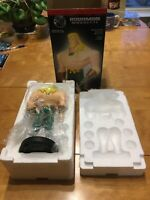 Aquaman Statue Justice League Animated LIMITED EDITION! Crazing On Hair & Belt