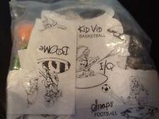 BURGER KING . KIDS CLUB TOY . KID VID BASKETBALL  ( Sport )  NEW IN PACK . RARE