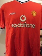 Manchester United F.C Vodafone Soccer Jersey  large