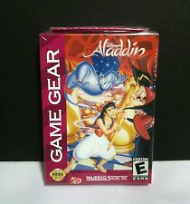 NEW factory sealed Disney's Aladdin game  for Sega Game Gear