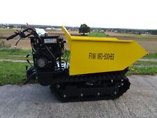 FINK MINI DUMPER MRD500HBS Raupendumper Benzin Motor B&S 1450 Serie 10 Ps 306ccm