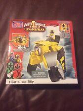 "Mega Bloks, Power Rangers, ""Super Samurai"" #5775 For Ages 5+, NIB - F"