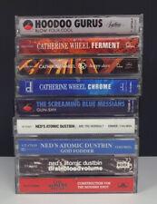 Lot 9 Rock Cassette Tapes-Catherine Wheel/Ned's Atomic Dustbin/Wonder Stuff