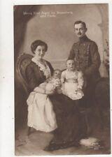 Ernst August Von Braunschweig Familie Vintage Postcard Germany Royalty 020b