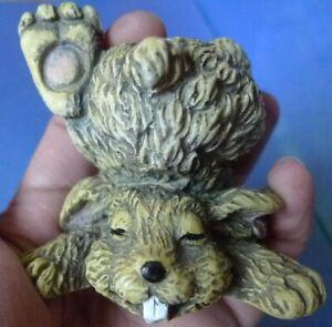 Vintage Figurine Funny Rabbit Bunny Hare Home Decor Collectibles animals