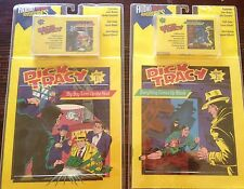 Dick Tracy Read along Comic Books and audio tape episode 1 and 2 new sealed