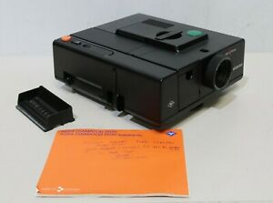 Agfa Diamator 1500 35mm Slide Projector Autofocus Boxed With Instructions -250