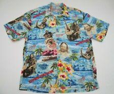 Mens Medium Jams World Stephen Stills Man Alive Woodstock hawaiian shirt
