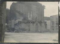 Baia Tempio da Diane Italia Italia Viaggio 1909 Vintage Argento Print 6,5x9 CM