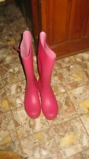Pink Itasca  Rain Boots Size 10