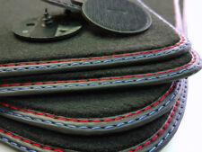 Fußmatten BMW 5er M5 E60 E61 hochwertige Qualität Velours Teppiche + Schrauben