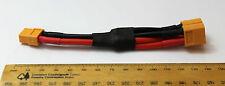 XT60 conector paralelo/Adaptador/arnés plug Cable 12AWG Para Batería Lipo RC 1F2M